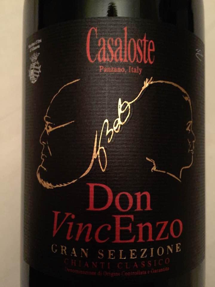 Casaloste – Don VincEnzo 2010 – Chianti Classico Gran Selezione