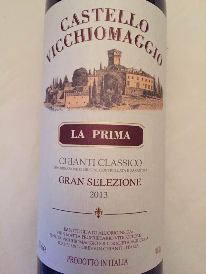Castello Vicchiomaggio – La Prima 2013 – Chianti Classico Gran Selezione