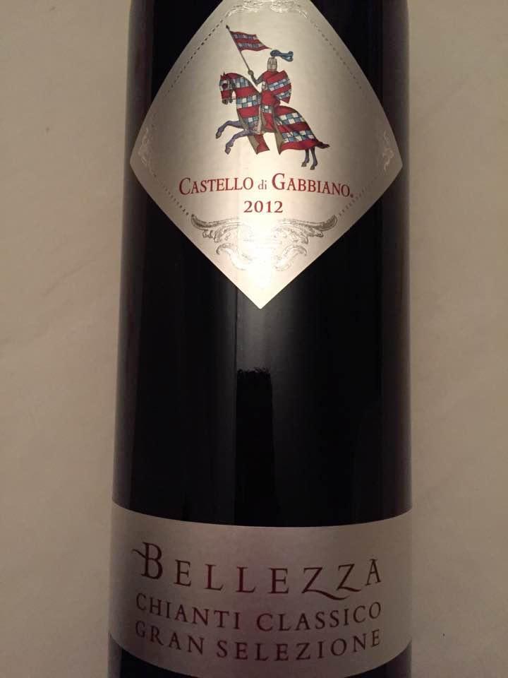 Castello di Gabbiano – Bellezza 2012 – Chianti Classico Gran Selezione