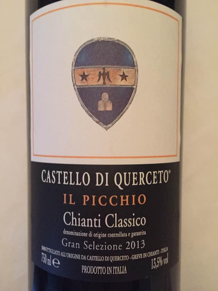 Castello di Querceto – Il Picchio 2013 – Chianti Classico Gran Selezione