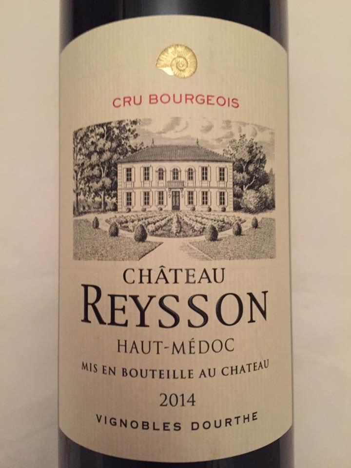 Château Reysson 2014 – Haut-Médoc – Cru Bourgeois