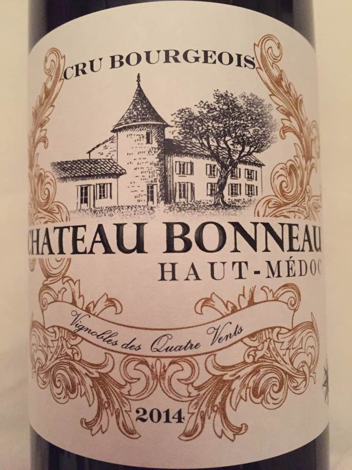 Château Bonneau 2014 – Haut-Médoc