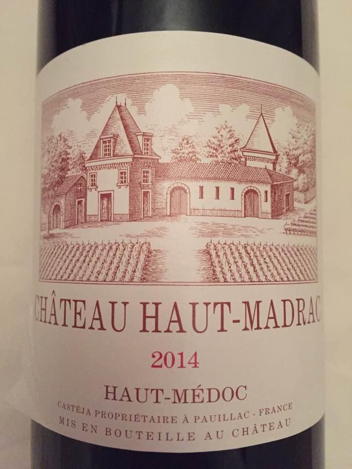 Château Haut-Madrac 2014 – Haut-Médoc – Cru Bourgeois