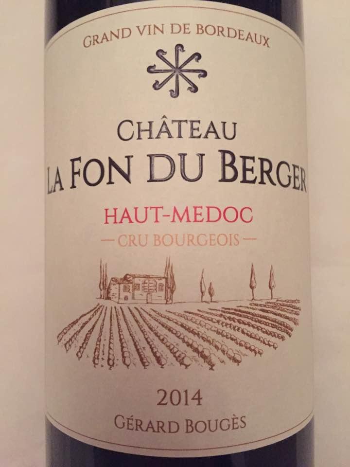Château La Fon du Berger 2014 – Haut-Médoc – Cru Bourgeois