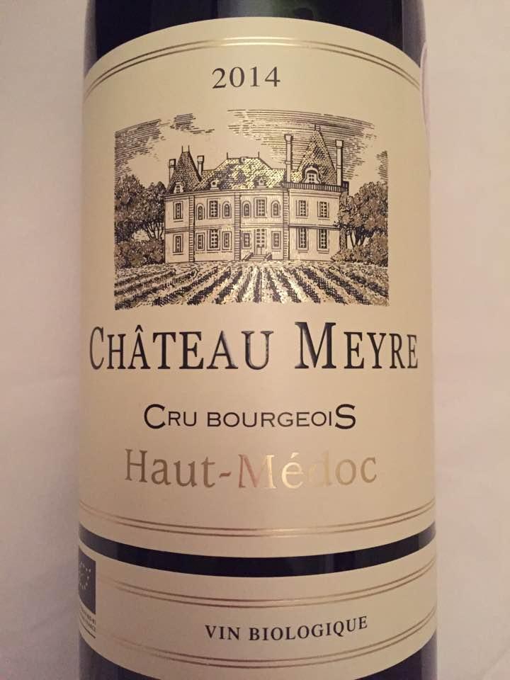 Château Meyre 2014 – Haut-Médoc – Cru Bourgeois