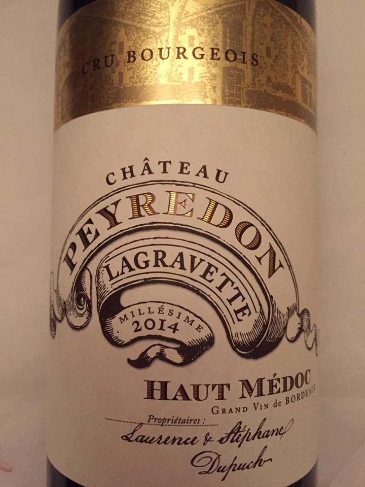 Château Peyredon Lagravette 2014 – Haut-Médoc