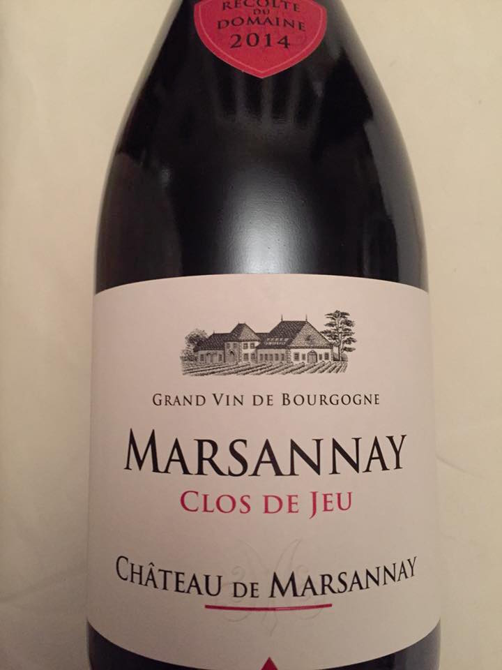 Château de Marsannay – Clos de Jeu 2014 – Marsannay