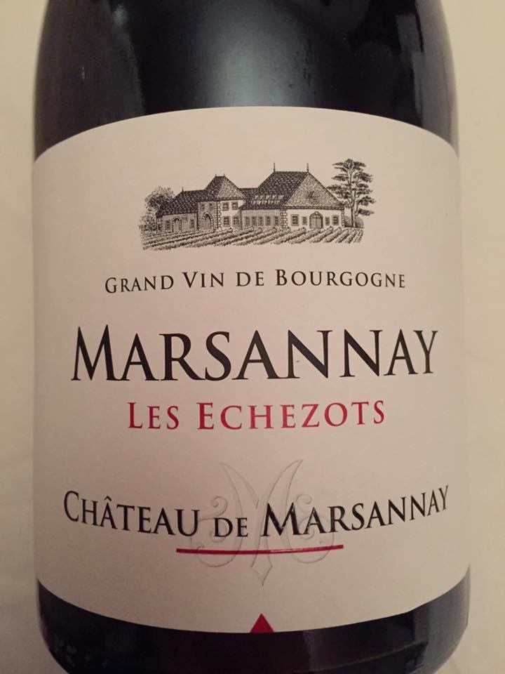 Château de Marsannay – Les Echezots 2014 – Marsannay