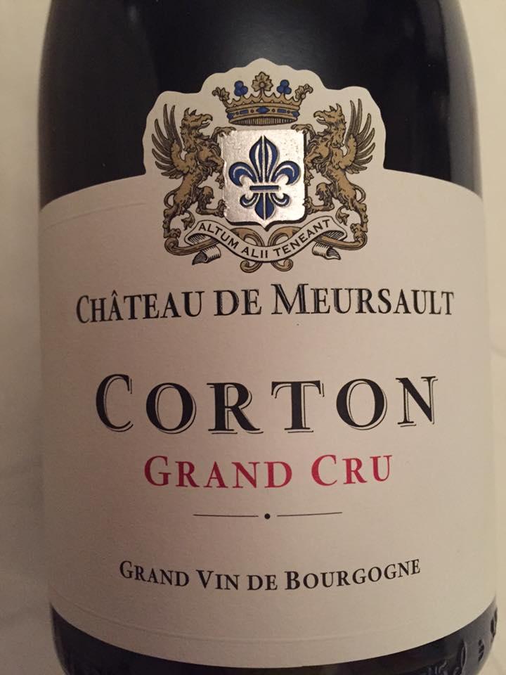 Château de Meursault 2014 – Corton Grand Cru