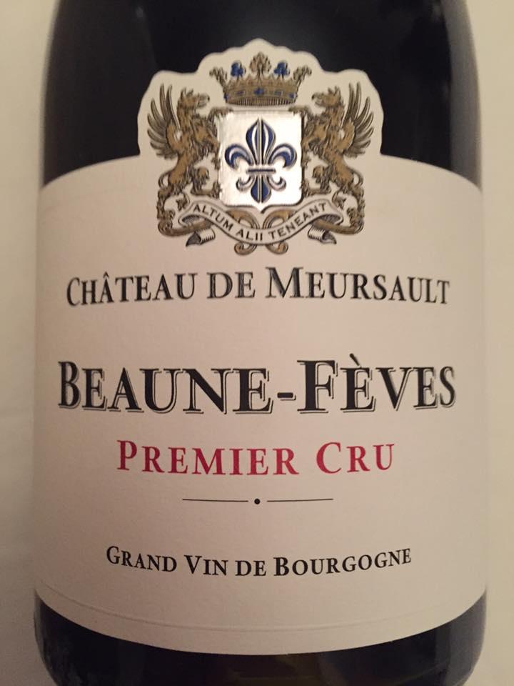 Château de Meursault 2014 – Beaune-Fèves – 1er Cru