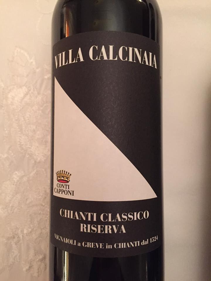 Conti Capponi – Villas Calcinaia 2013 – Chianti Classico Riserva
