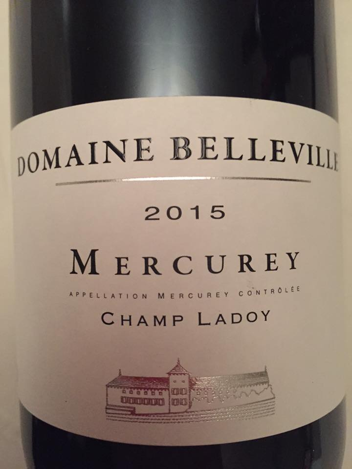 Domaine Belleville – Champ Ladoy 2015 – Mercurey