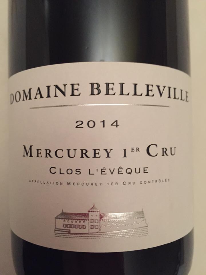Domaine Belleville – Clos L'évêque 2014 – Mercurey– 1er Cru