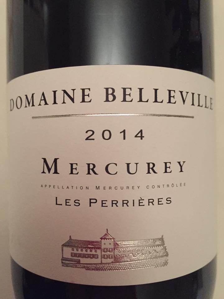Domaine Belleville – Les Perrières 2014 – Mercurey