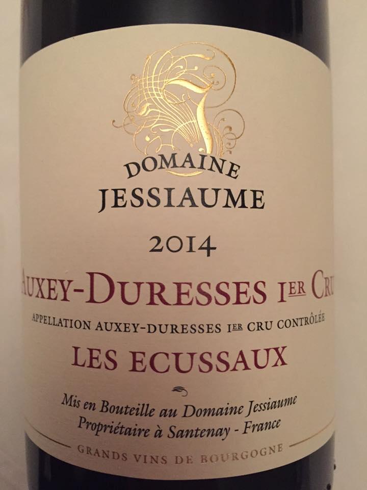 Domaine Jessiaume – Les Ecussaux 2014 – Auxey-Duresses 1er Cru