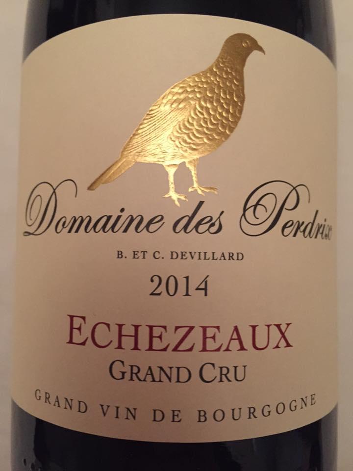 Domaine des Perdrix 2014 – Echezeaux Grand Cru