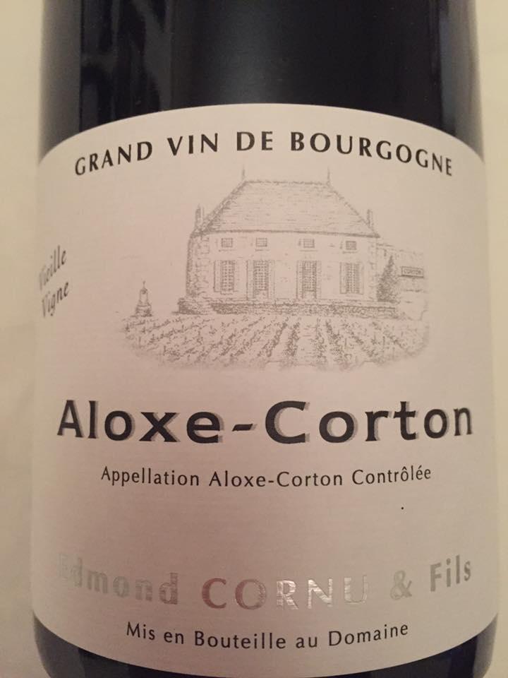 Edmond Cornu & Fils – Vieille Vigne 2014 – Aloxe-Corton