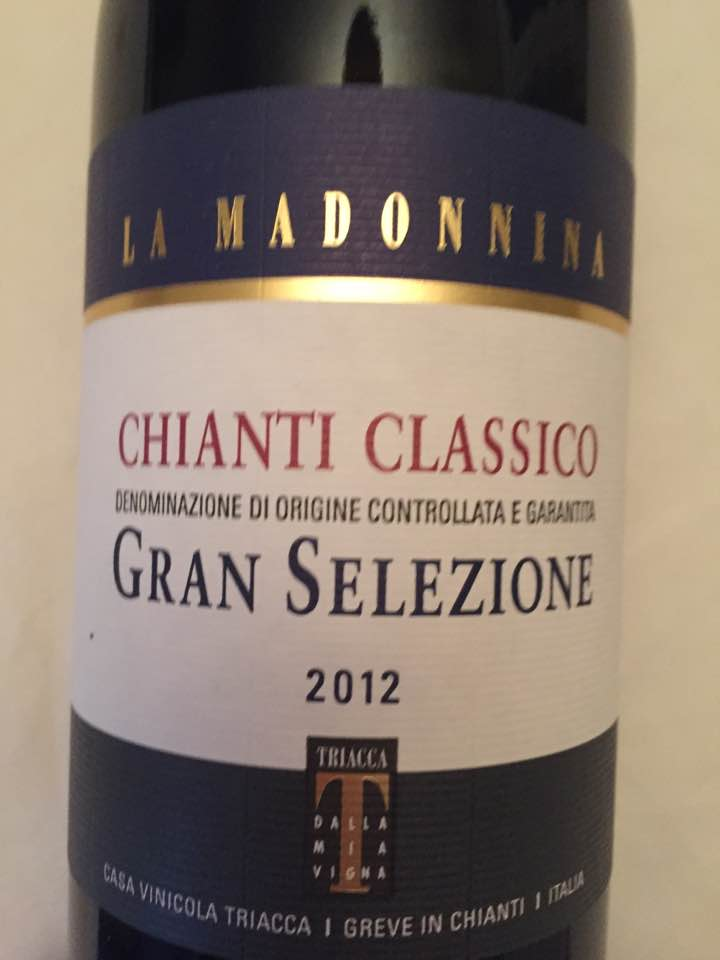 La Madonnina 2012 – Chianti Classico Gran Selezione