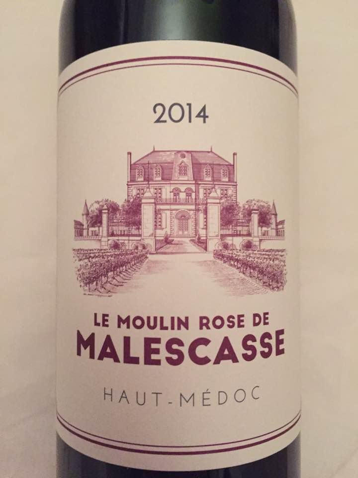 Le Moulin Rose de Malescasse 2014 – Haut-Médoc – Cru Bourgeois