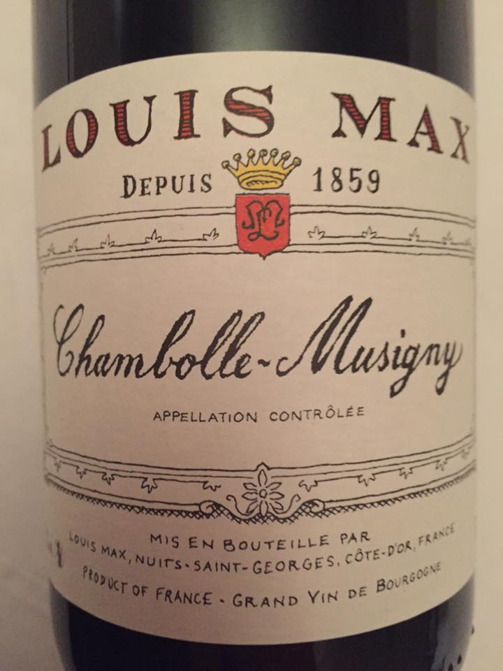 Louis Max 2014 – Chambolle-Mussigny