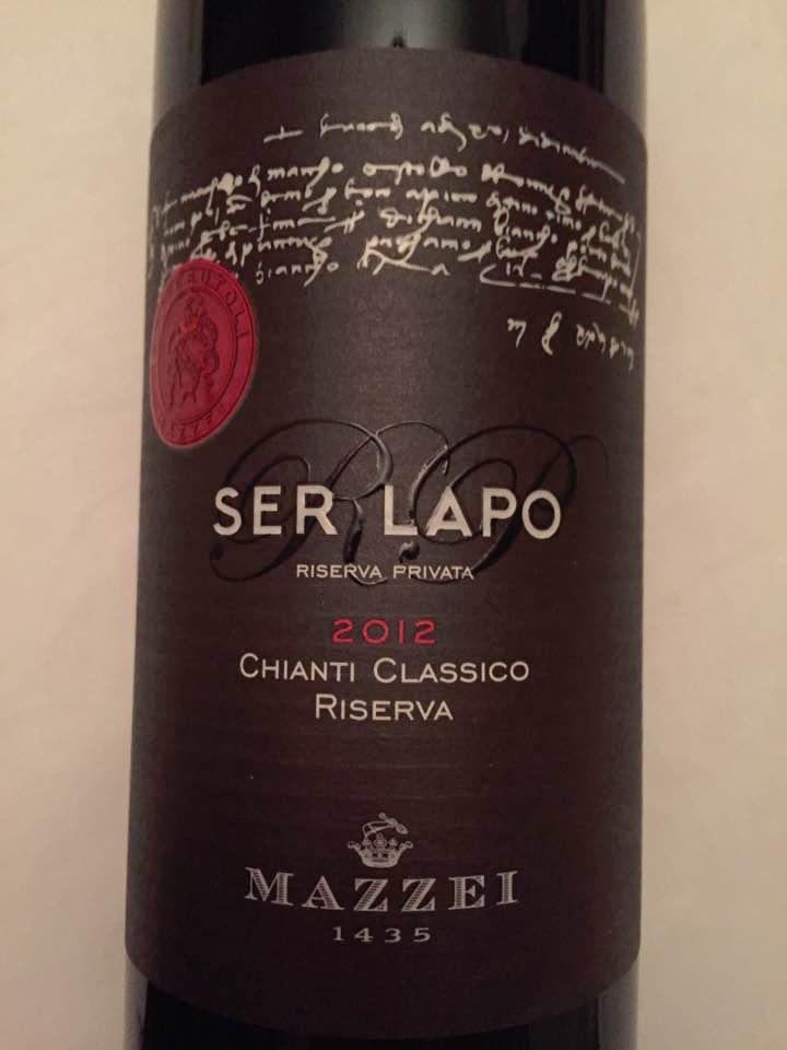 Mazzei – Ser Lapo 2012 – Chianti Classico Riserva