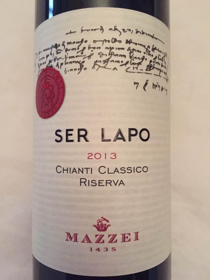 Mazzei – Ser Lapo 2013 – Chianti Classico Riserva