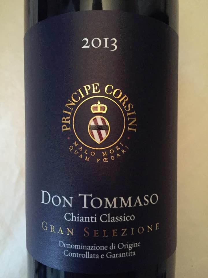Principe Corsini – Don Tommaso 2013 – Chianti Classico Gran Selezione
