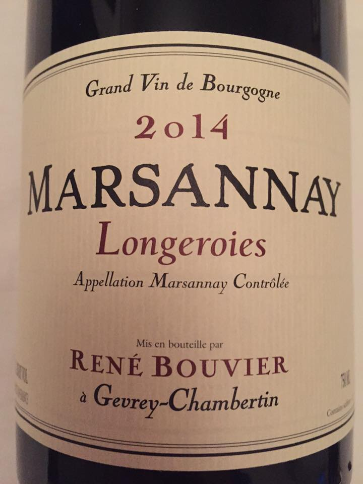 René Bouvier – Longeroies 2014 – Marsannay