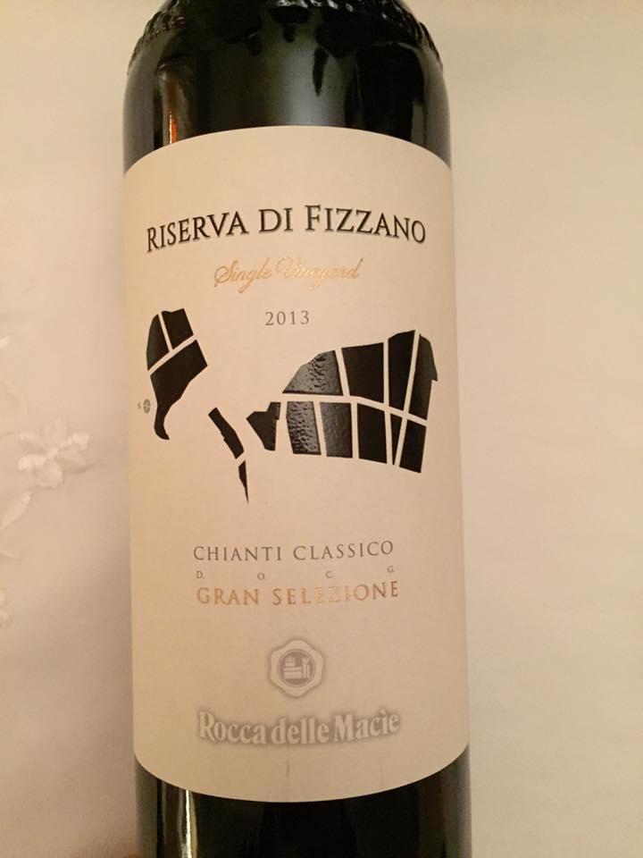 Rocca delle Macie – Riserva di Fizzano 2013 – Single Vineyars – Chianti Classico Riserva