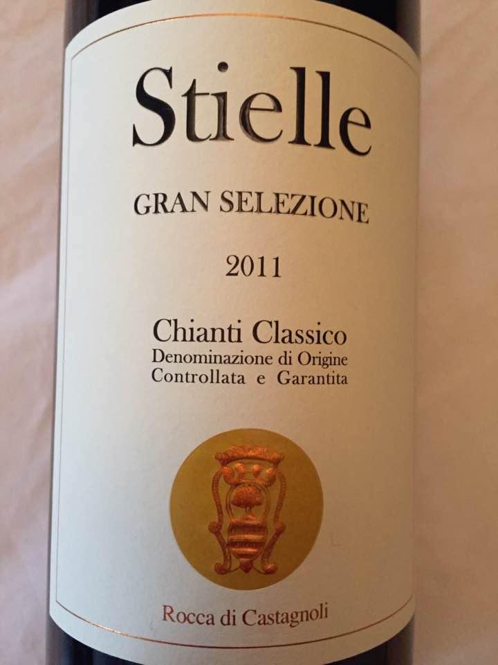Rocca di Castagnoli – Stielle 2011 – Chianti Classico Gran Selezione