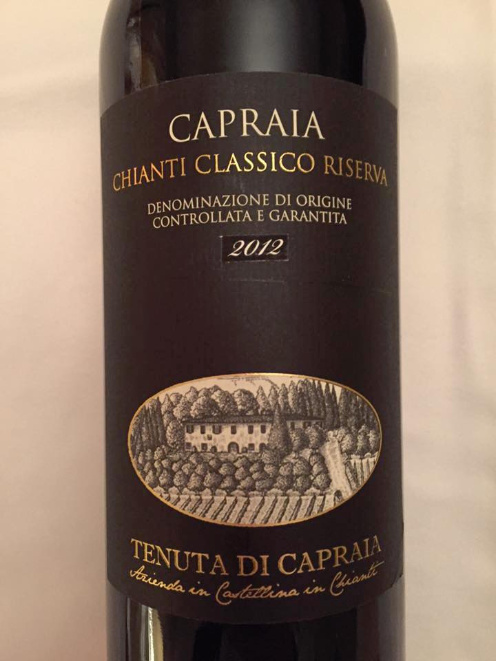 Tenuta di Capraia – Capraia 2012 – Chianti Classico Riserva