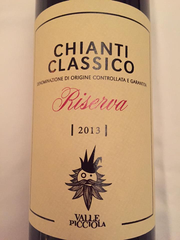 Valle Picciola 2013 – Chianti Classico Riserva