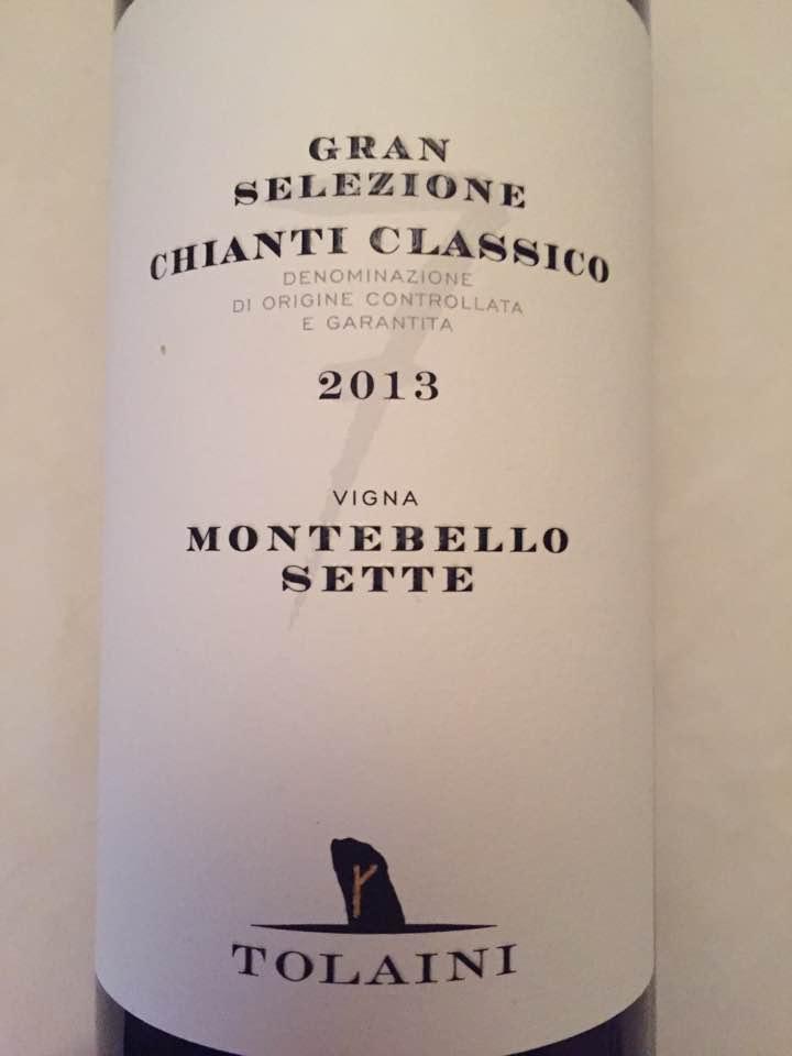 Tolaini – Vigna Montebello Sette 2013 – Chianti Classico Gran Selezione