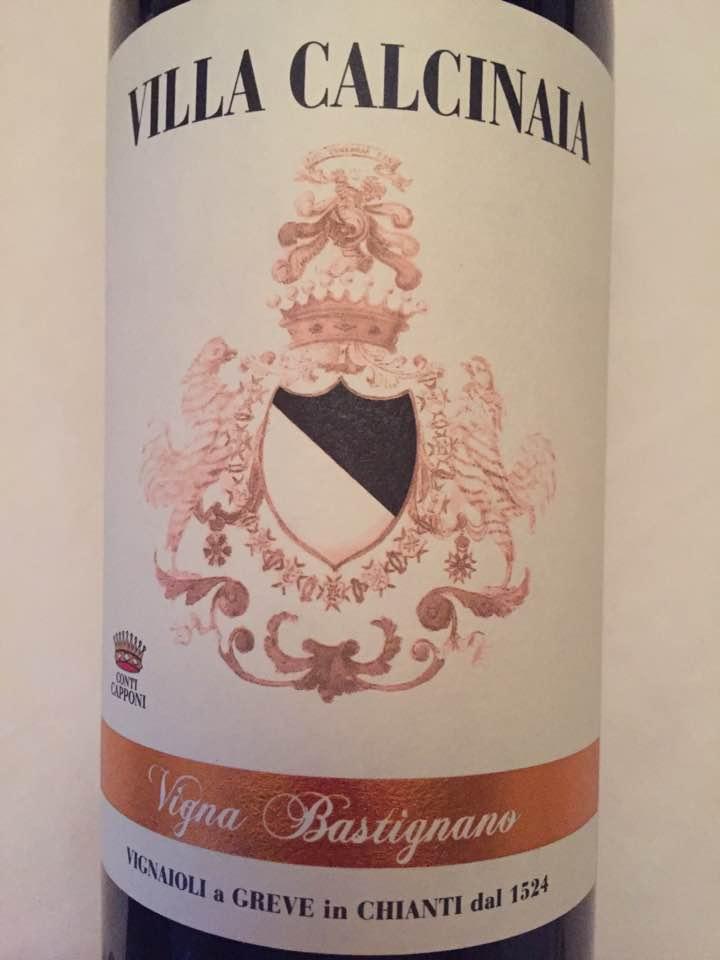 Villa Calcinaia – Vigna Bastignano 2013 – Chianti Classico Gran Selezione