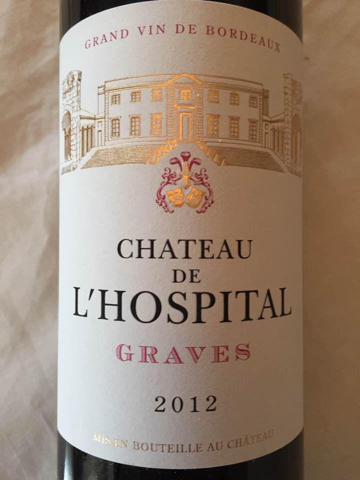 Château de L'Hospital 2012 – Graves