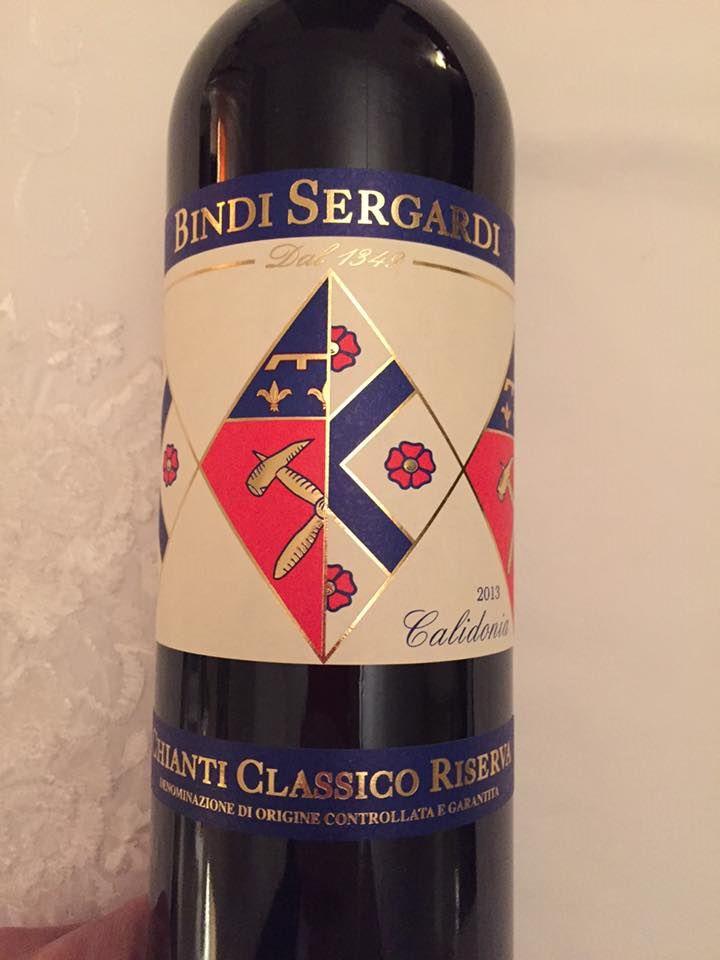Bindi Sergardi – Calidonia 2013 – Chianti Classico Riserva