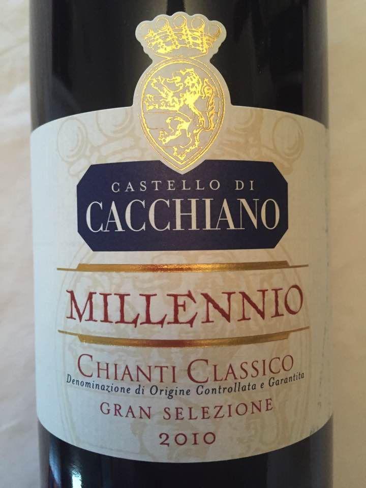Castello di Cacchiano – Millennio 2010 – Chianti Classico Gran Selezione