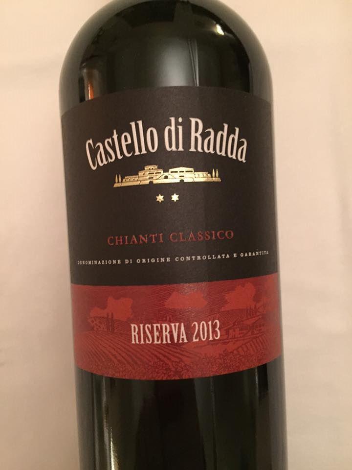Castello di Radda 2013 – Chianti Classico Riserva