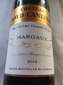 Château Boyd-Cantenac 2012 – Margaux – Grand Cru Classé