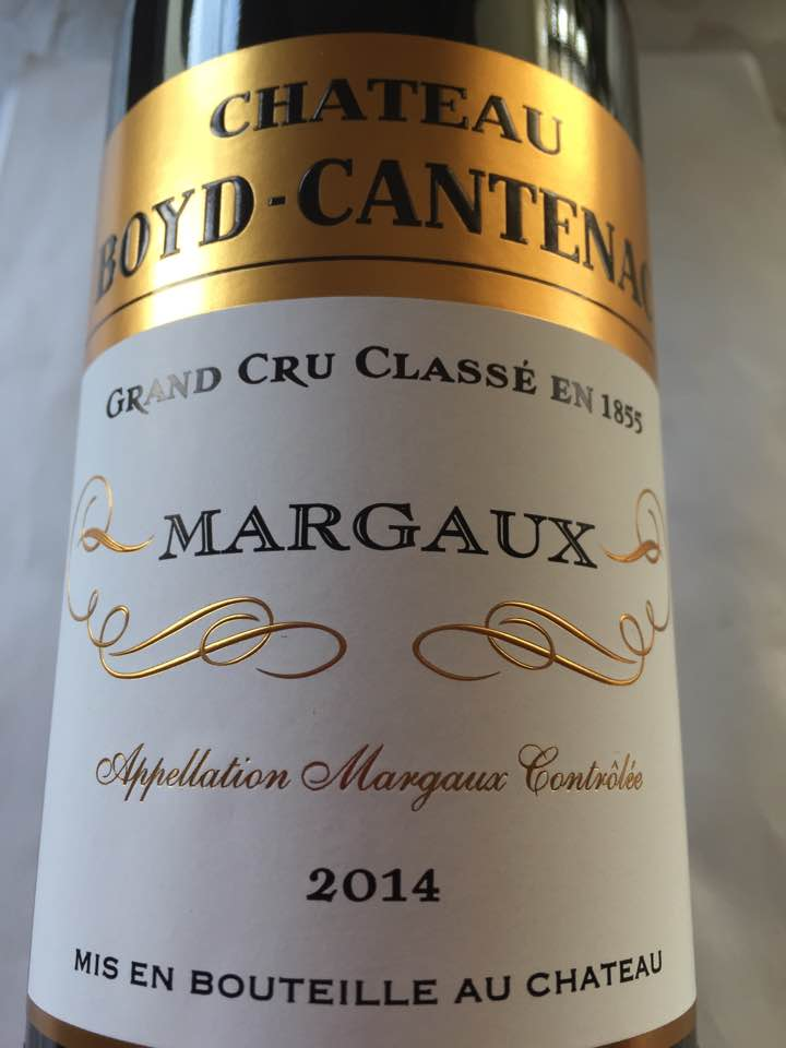 Château Boyd-Cantenac 2014 – Margaux – Grand Cru Classé