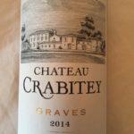 Château Crabitey 2014 – Graves