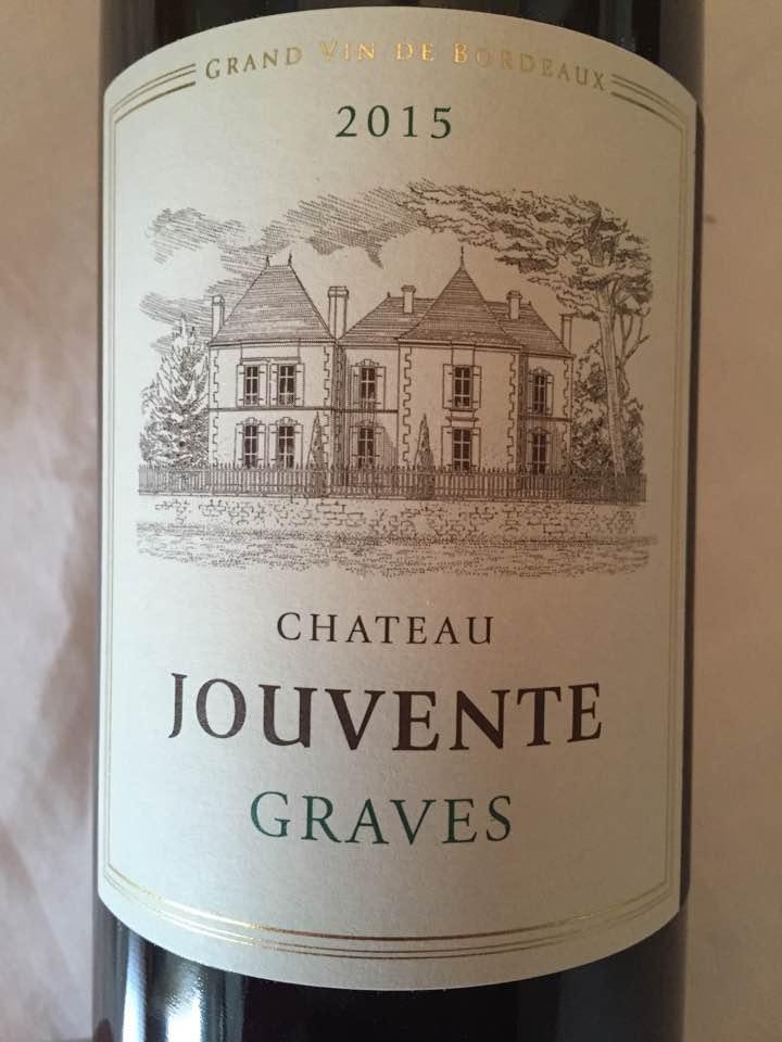 Château Jouvente 2015 – Graves