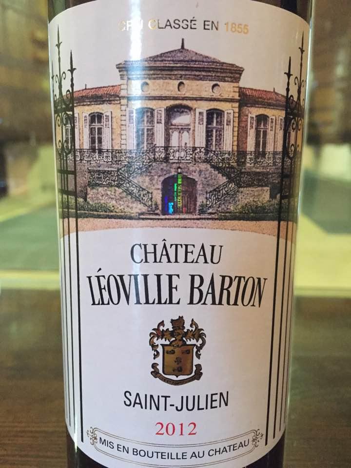 Château Léoville Barton 2012 – Saint-Julien, Grand Cru Classé