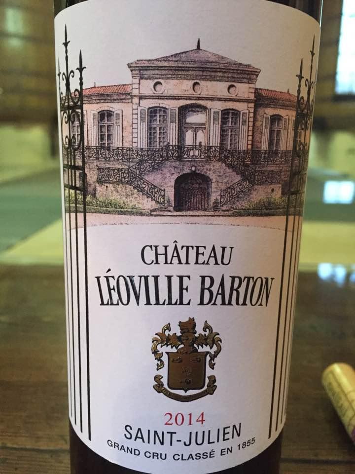 Château Léoville Barton 2014 – Saint-Julien, Grand Cru Classé