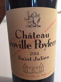 Château Léoville Poyferré 2014 – Saint-Julien, Grand Cru Classé