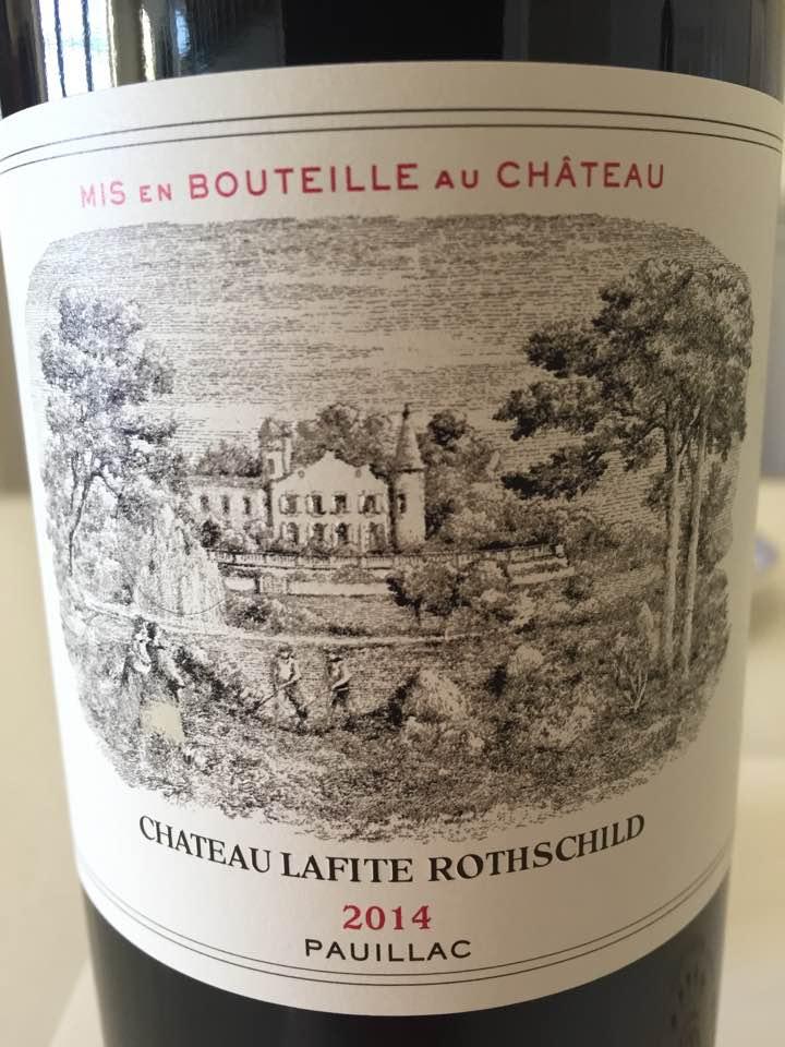 Château Lafite Rothschild 2014 – Pauillac, 1er Grand Cru Classé