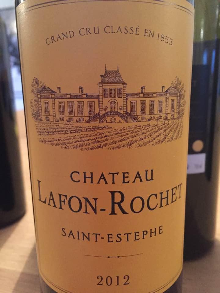 Château Lafon Rochet 2012 – Saint-Estèphe, 4ème Grand Cru Classé