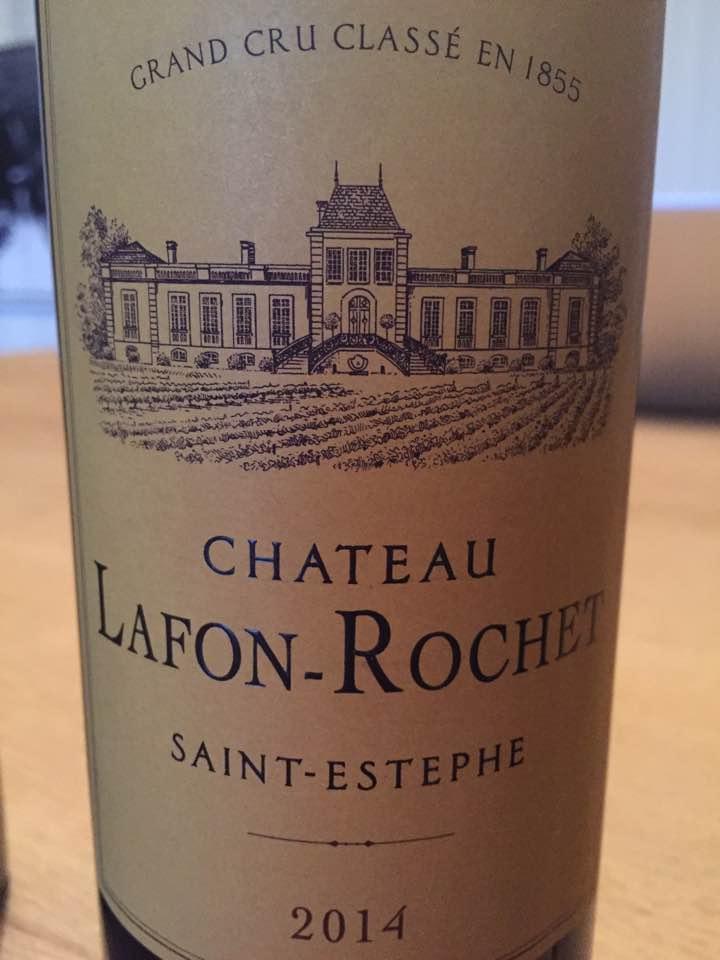 Château Lafon Rochet 2014 – Saint-Estèphe, 4ème Grand Cru Classé