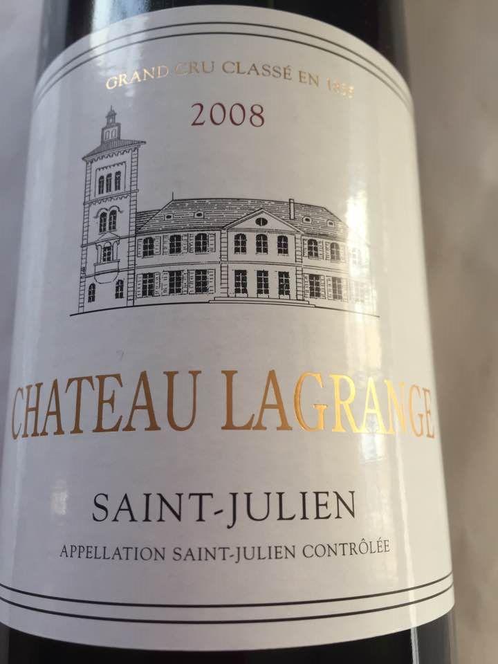 Château Lagrange 2008 – Saint-Julien – Grand Cru Classé