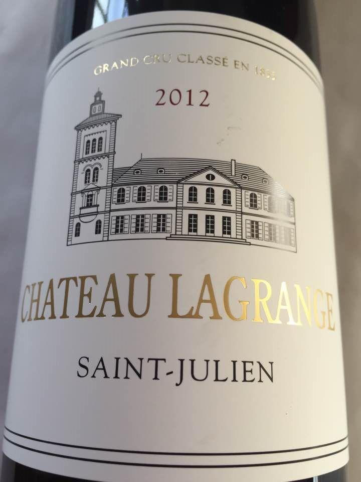 Château Lagrange 2012 – Saint-Julien – Grand Cru Classé